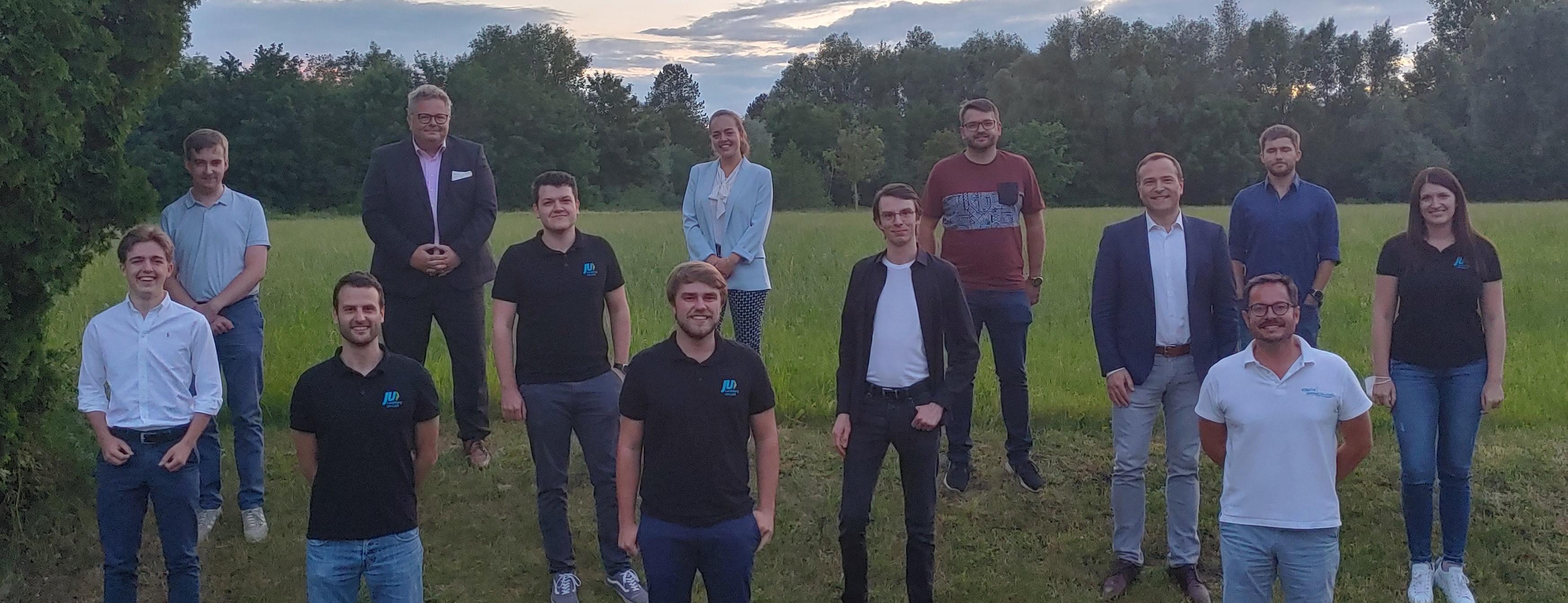 Gruppenfoto nach der Vorstandswahl 2021